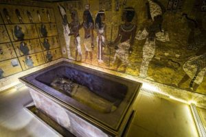 La tumba de Tutankamón tendría dos cámaras secretas. Foto:AFP. Imagen Por: