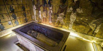 Analizan tumba de Tutankamón para confirmar existencia de cámaras secretas
