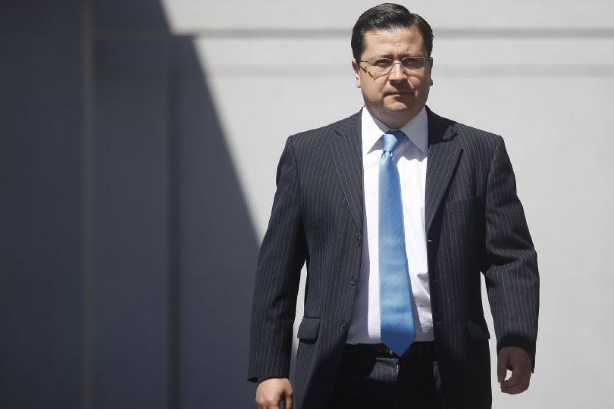 Fiscal Luis Toledo, quien este jueves entregó una vocería. Foto:Archivo Agencia Uno. Imagen Por: