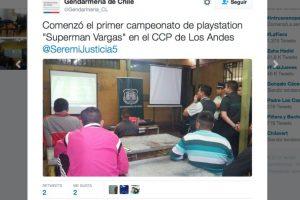 Así se informó en las redes sociales. Foto:Reproducción / Twitter @Gendarmeria_CL. Imagen Por: