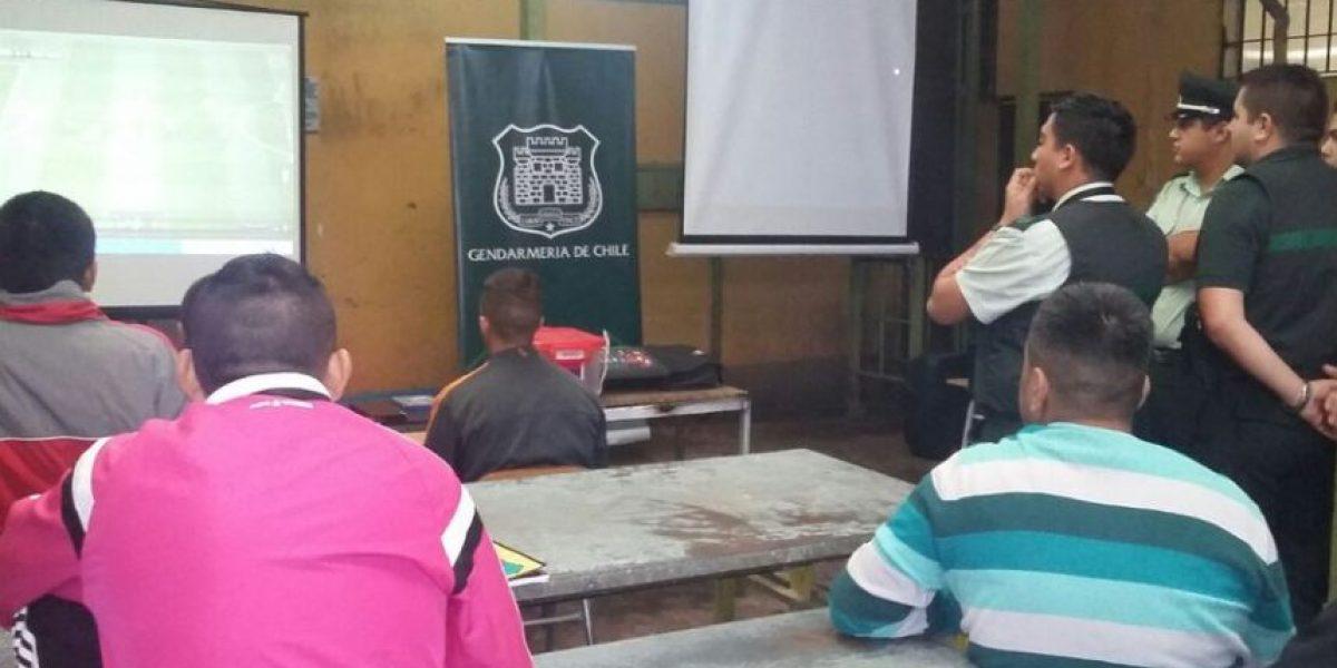 Cárcel de Los Andes es sede de inédito campeonato de Play Station