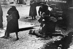 Leningrado, durante el sitio nazi.. Imagen Por: