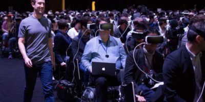 Mark Zuckerberg presenta los Oculus Rift, lentes de Facebook