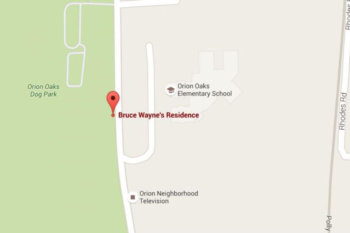 Según Google Maps, la casa de Bruno Díaz se encuentra en las afueras de Detroit. Foto:Google Maps. Imagen Por: