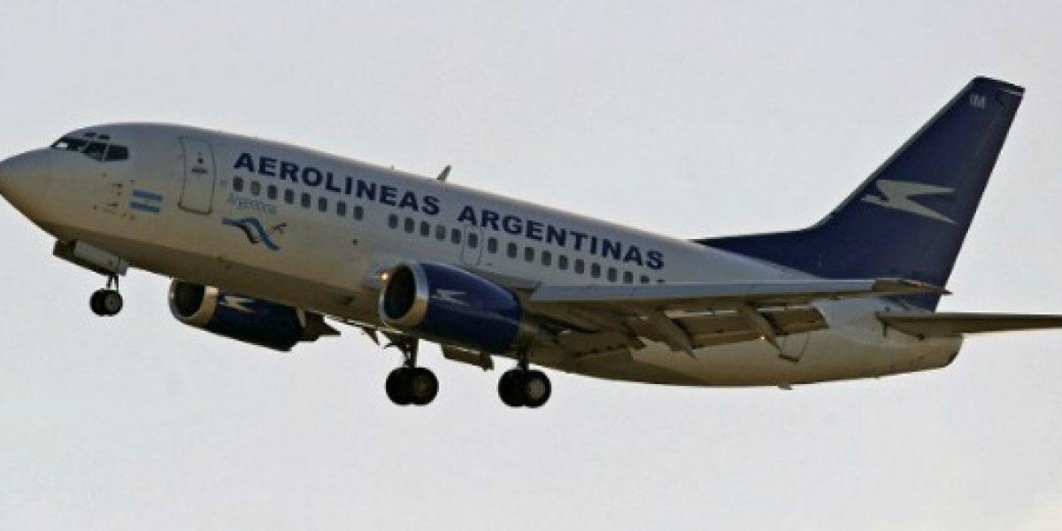 Pilotos de Aerolíneas Argentinas anuncian paro de 24 horas para este viernes