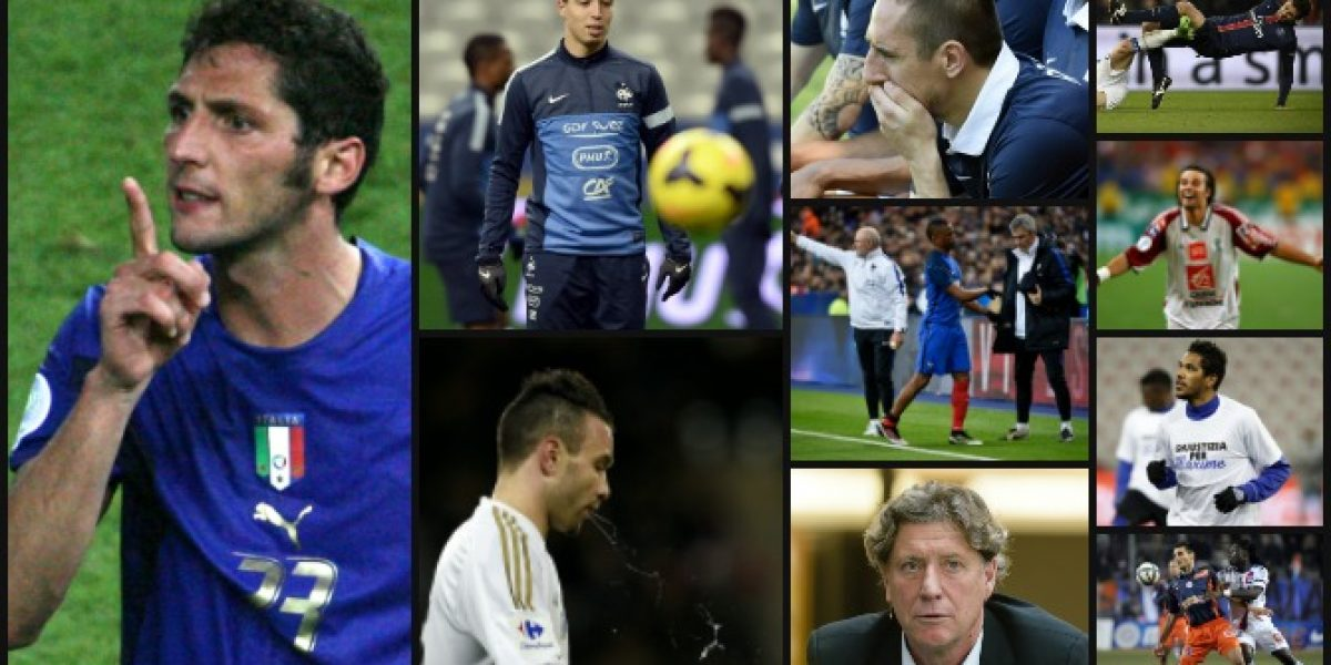 Era de esperar: Materazzi lidera el top ten de los jugadores más odiados en Francia