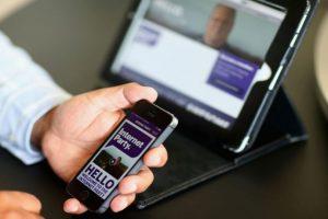 Los celulares nos ayudan a estar conectados, pero pueden desconectarnos de lo que nos rodea. Foto:Getty Images. Imagen Por: