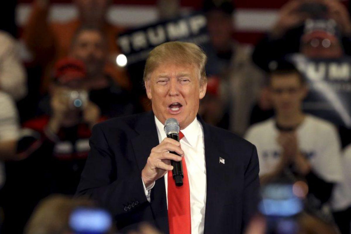 El 16 de junio de 2015, Trump anunció su intención para ocupar la Casa Blanca. Foto:AP. Imagen Por:
