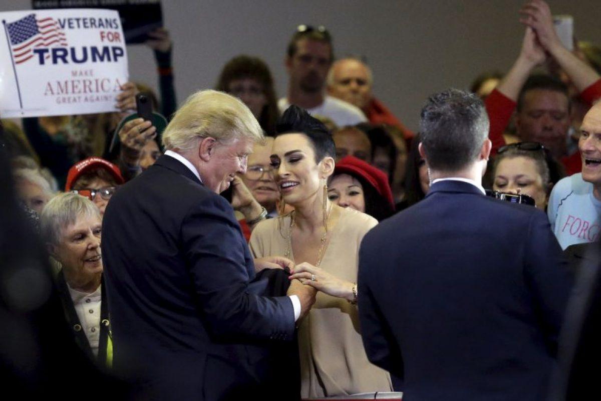 Donald Trump y sus seguidores Foto:AP. Imagen Por: