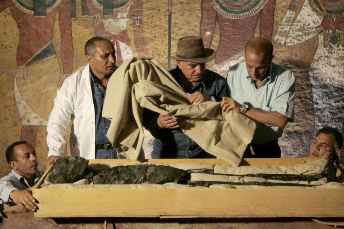 La tumba fue descubierta en 1920, en el Valle de los Reyes. Foto:AFP. Imagen Por: