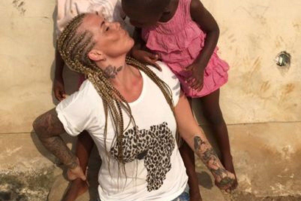 En la ONG los niños reciben tratamiento médico, comida, alojamiento y educación. Foto:facebook.com/anja.loven/. Imagen Por: