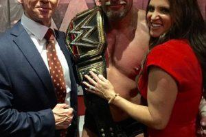 El campeón Triple H también ha optado por el gym Foto:WWE. Imagen Por: