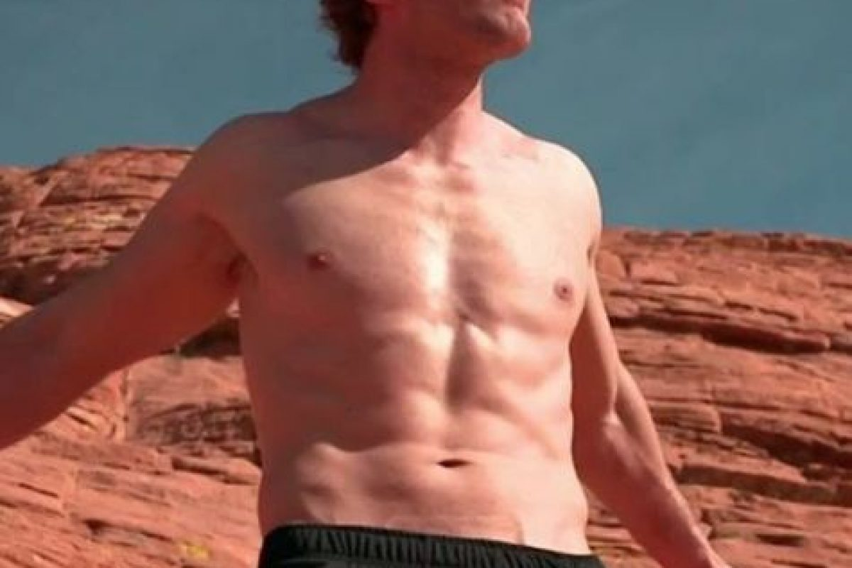 """El """"Lunático"""" optó por entrenar en el desierto Foto:WWE. Imagen Por:"""