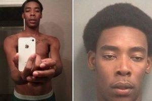 4. Le roba el iPhone y se toma un selfie: quién sabe en qué estaba pensando Jess Ewald cuando se tomó esta foto del smartphone que acababa de robar porque pronto la policía publicó su retrato en redes sociales. Foto:Twitter. Imagen Por: