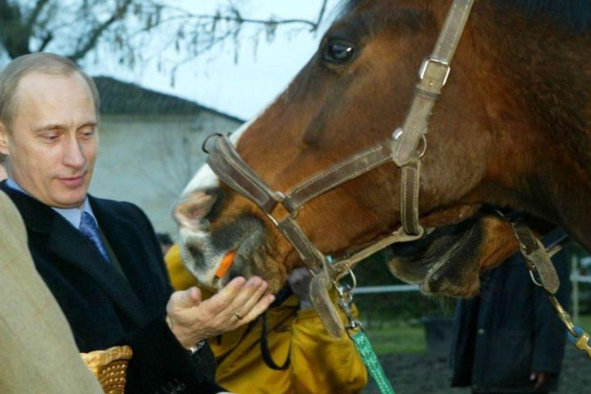 También le agrada la equitación Foto:Getty Images. Imagen Por:
