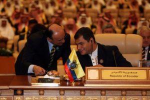 Rafael Correa, presidente de Ecuador, es aficionado al senderismo Foto:Getty Images. Imagen Por: