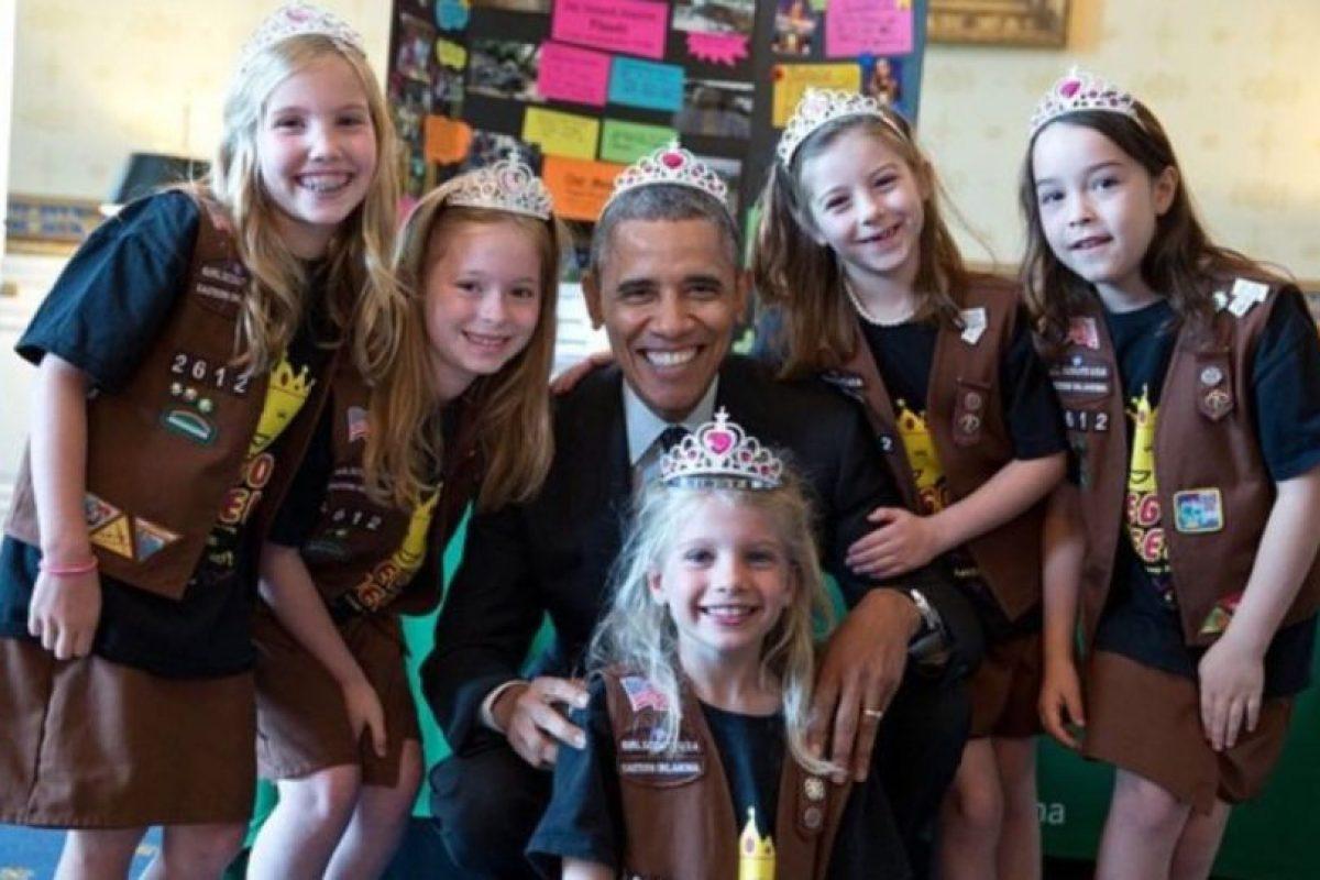 Todos deben saber tratar a las princesas. Foto: Vía whitehouse.gov/photos. Imagen Por: