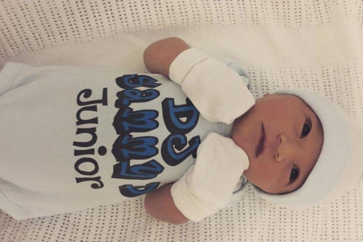 Le nació un niño sano. Foto:vía Instagram. Imagen Por: