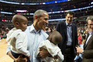 Fotografías como esta muestran un lado distinto de Barack Obama. Foto: Vía whitehouse.gov/photos. Imagen Por: