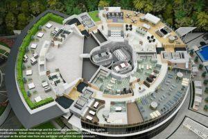 Existirán departamentos de dos plantas. Foto:Porsche Design Tower. Imagen Por: