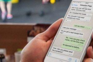 La nueva actualización de WhatsApp también permite escribir en negritas, cursiva y tachar texto. Foto:Tumblr. Imagen Por: