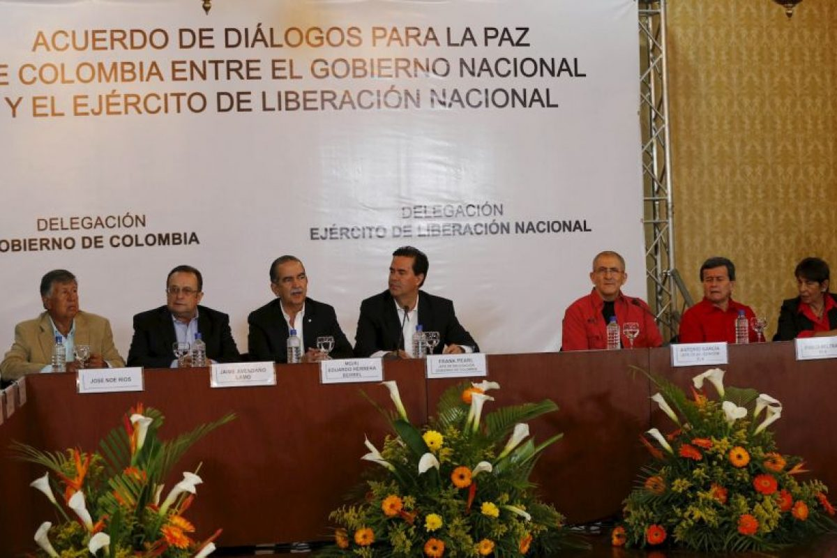 Colombia inicia el camino hacia la paz con grupo guerrillero del país. Foto:AP. Imagen Por: