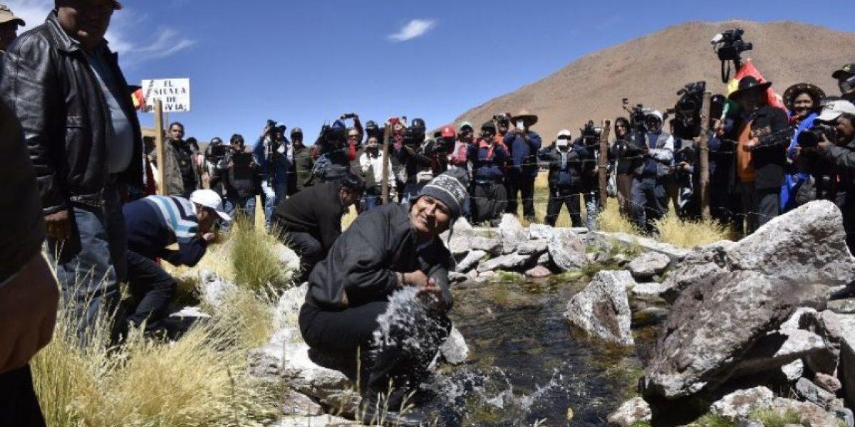 Morales responde a Bachelet y afirma que demanda por Silala