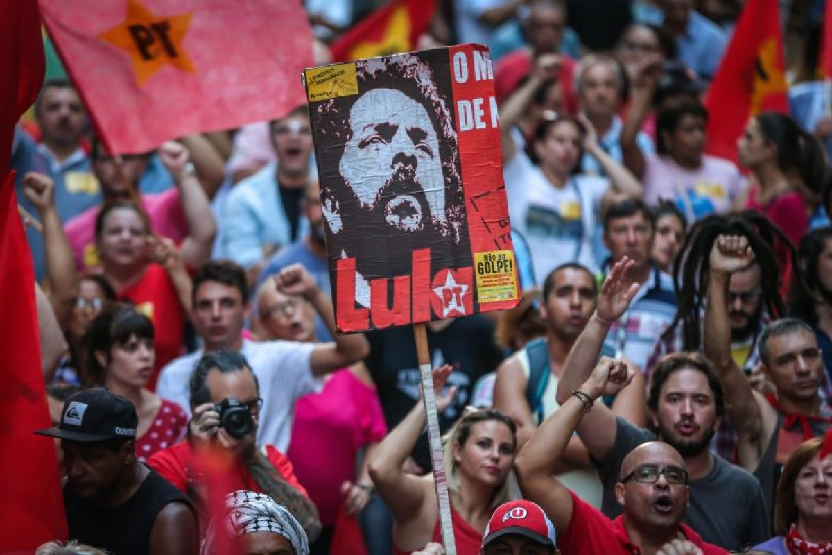 Manifestantes en favor al gobierno brasileño. Foto:AFP. Imagen Por: