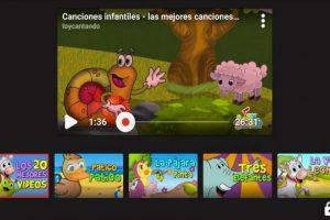 Una de las configuraciones le permitirá a los padres ajustar el tiempo en que los niños pueden ver videos. Foto:YouTube. Imagen Por: