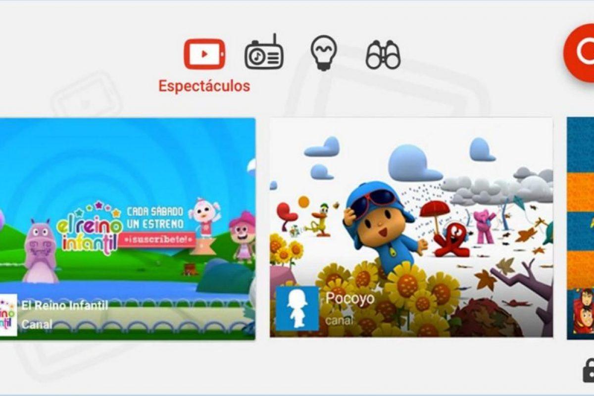 También contará con control parental. Foto:YouTube. Imagen Por:
