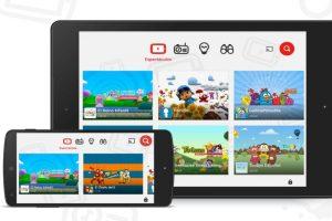 YouTube Kids ha tenido mucho éxito en países anglosajones. Foto:YouTube. Imagen Por: