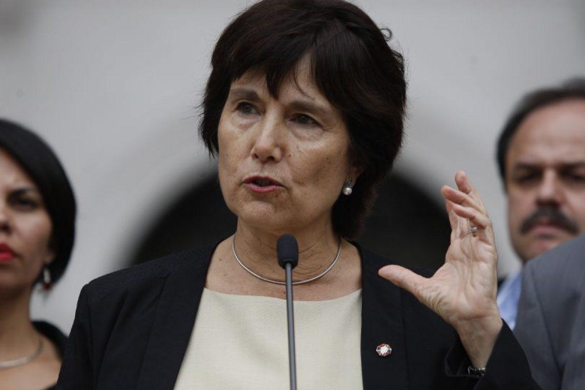 Ministra Carmen Castillo. Imagen Por:
