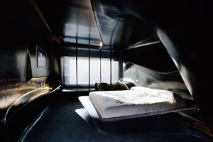Habitación de la primera planta del hotel Silken Puerta América de Madrid diseñada por la arquitecta Zaha Hadid. Foto:Zaha Hadid Architects. Imagen Por: