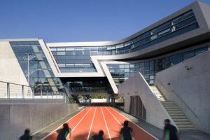 Academia Evelyn Grace, en Brixtón (Reino Unido). Foto:Zaha Hadid Architects. Imagen Por:
