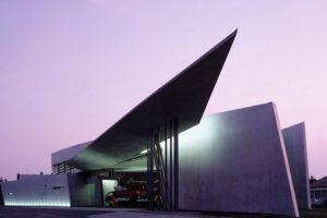 Estación de Bomberos Vitra, en Weil am Rhein (Alemania). Foto:Zaha Hadid Architects. Imagen Por: