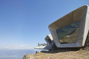 Museo de la Montaña Messner Corones, en el monte Kronplatz (Italia). Foto:Zaha Hadid Architects. Imagen Por: