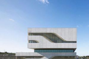Edificio Pierresvives en Montpellier (Francia). Foto:Zaha Hadid Architects. Imagen Por: