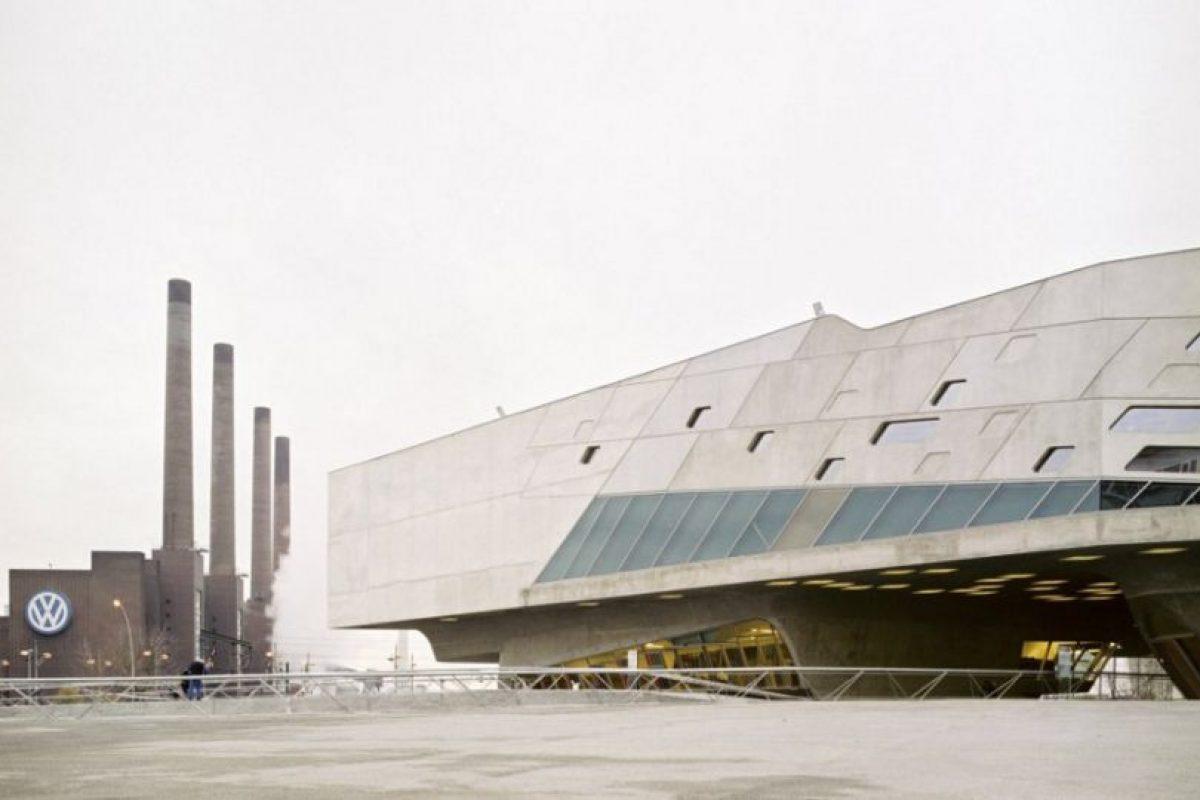 Museo de la Ciencia (Centro Phaneno), de Wolfsburg (Alemania). Foto:Zaha Hadid Architects. Imagen Por: