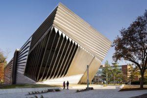 Aspecto del museo Broad, en Michigan (EE UU). Foto:Zaha Hadid Architects. Imagen Por: