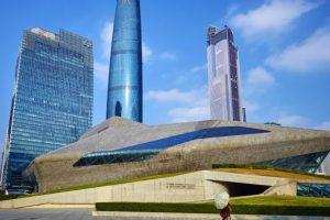 Ópera de Guangzhou (China). Foto:Zaha Hadid Architects. Imagen Por: