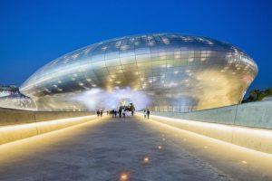 Dongdaemun Design Plaza & Park en Seúl (Corea del Sur). Foto:Zaha Hadid Architects. Imagen Por: