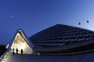 Pabellón-puente de la Expo de Zaragoza 2008. Foto:Zaha Hadid Architects. Imagen Por: