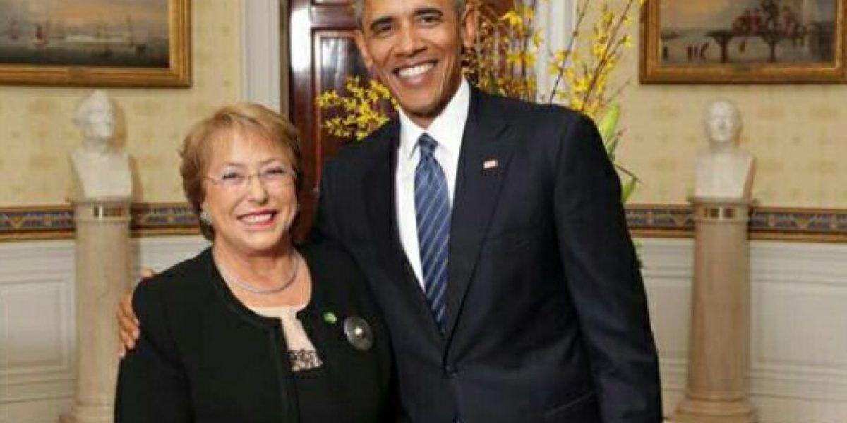 Así fue la visita de la Presidenta Michelle Bachelet a la Casa Blanca