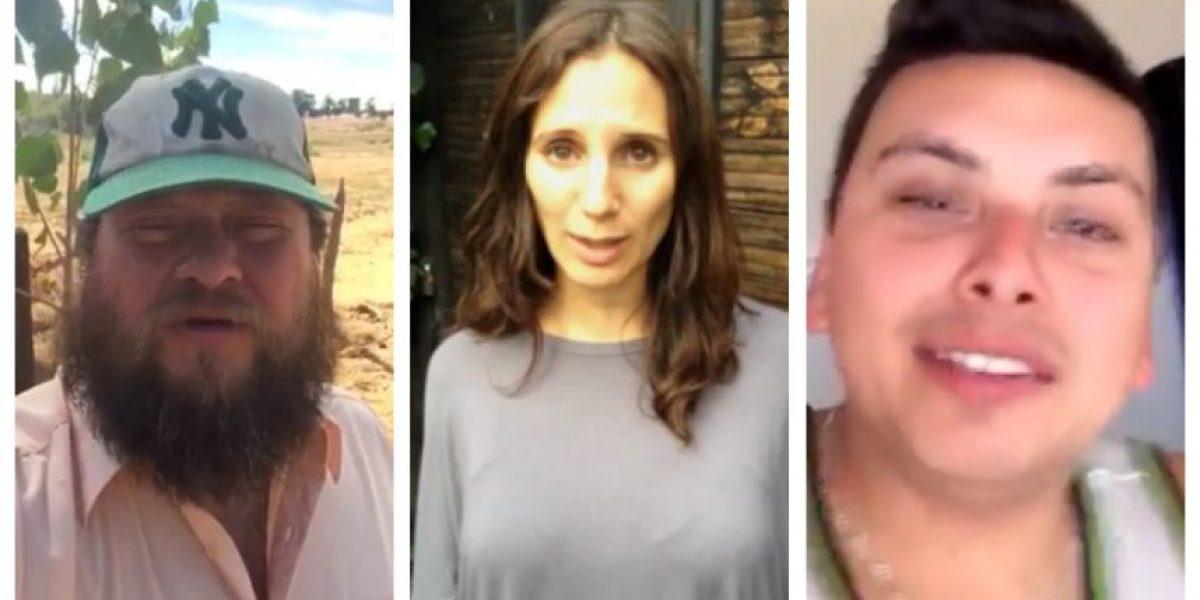 Famosos protagonizan viral en apoyo a nuevo