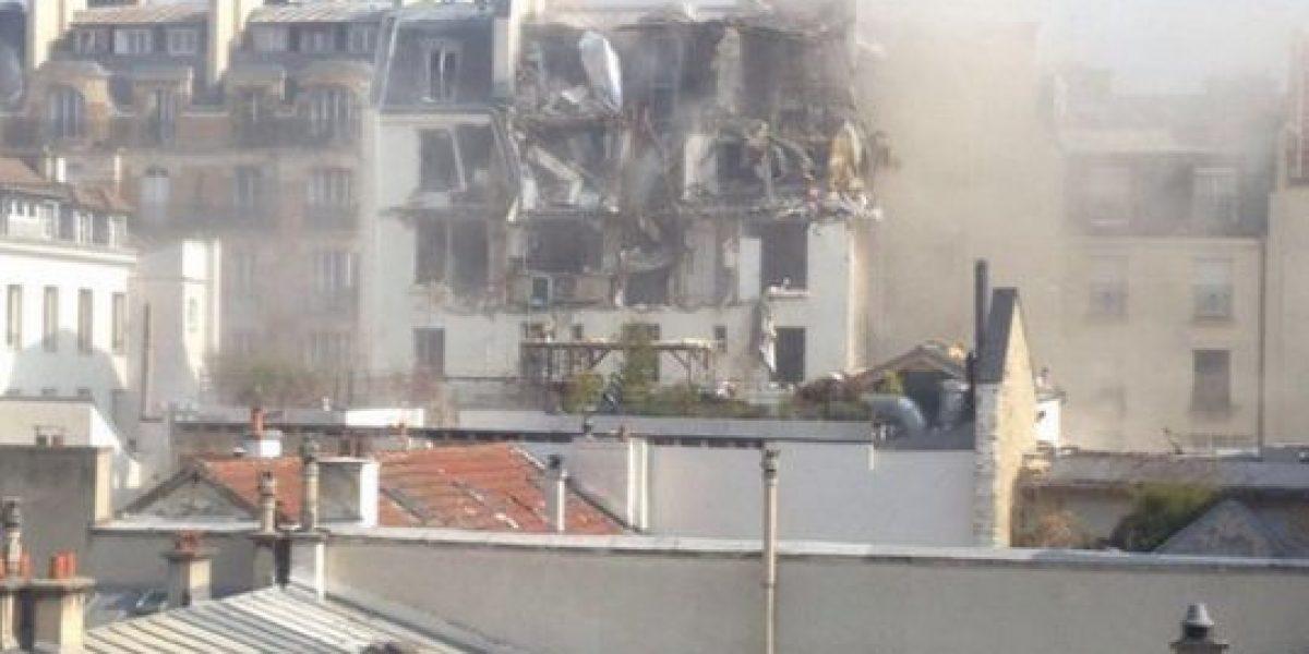 Evacuan edificio residencial en París tras explosión