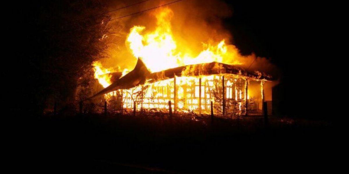 Múltiples ataques incendiarios afectan a la Araucanía
