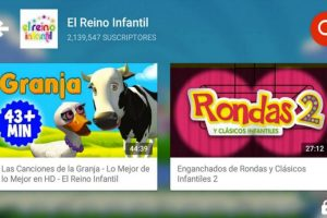La aplicación tendrá mucho contenido especial para niños. Foto:YouTube. Imagen Por: