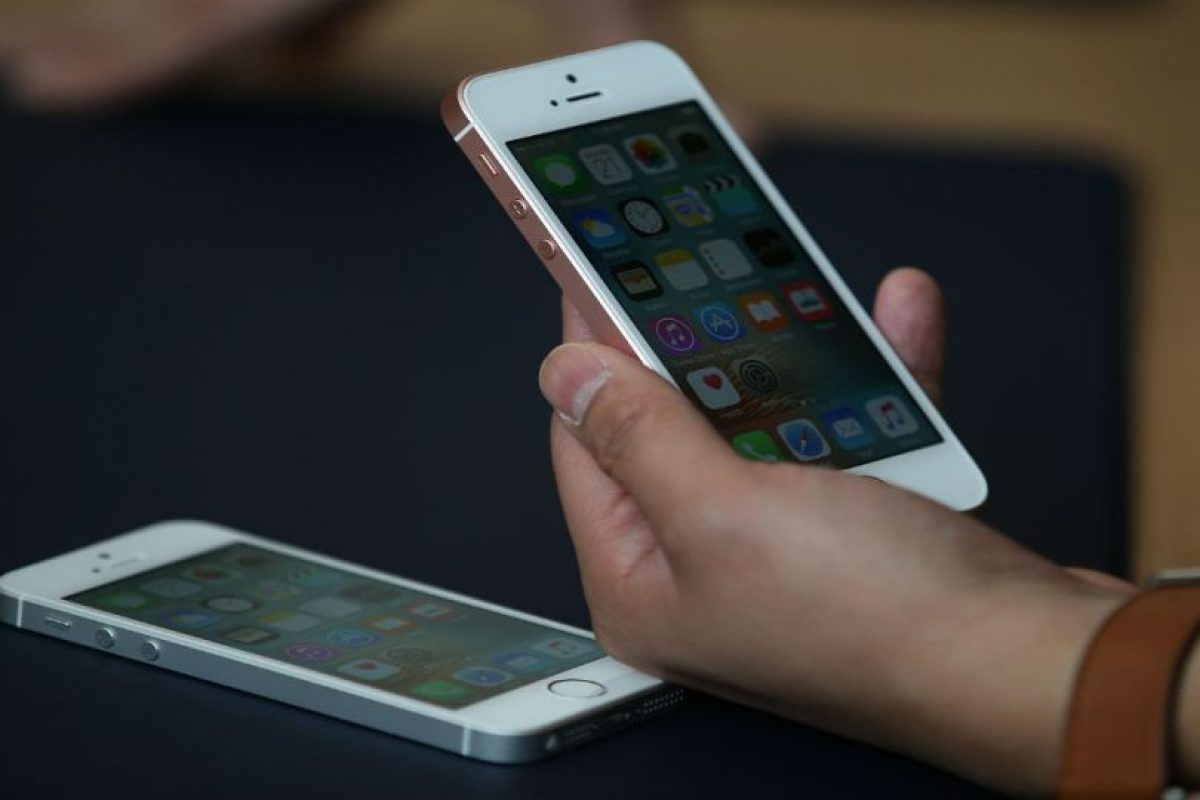 El iPhone no cuentan con memoria externa. Foto:Getty Images. Imagen Por: