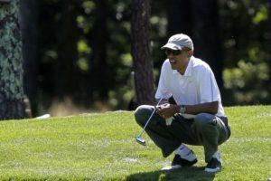 Pero también le gusta practicar golf. Foto:Getty Images. Imagen Por: