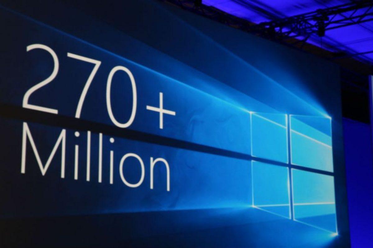Más de 270 millones de usuarios han instalado Windows 10 en sus dispositivos. Foto:Tumblr. Imagen Por: